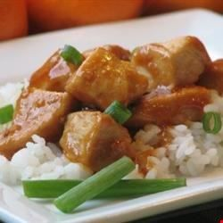 Asian chicken and rice recipe