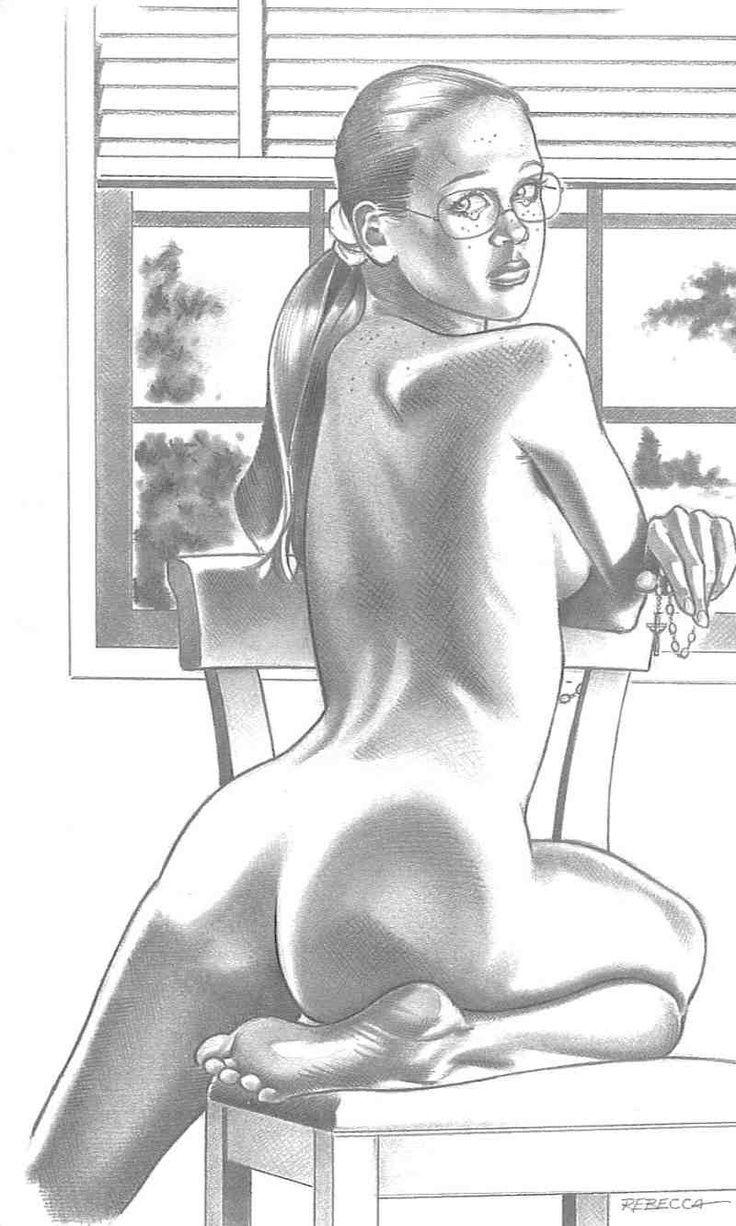 Rebecca erotic comics