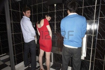 best of Upright alone peeing Women