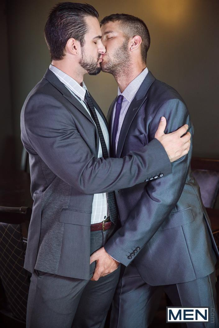 Free gay porn men in suits