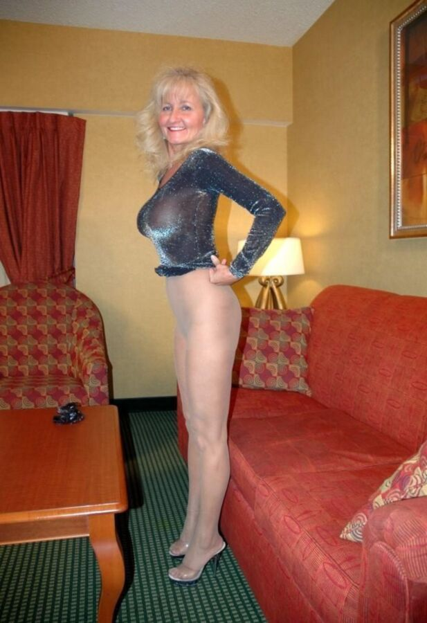 Pantyhose amateur stockings