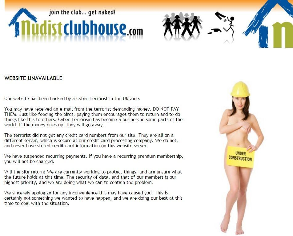 We are nudist personal website