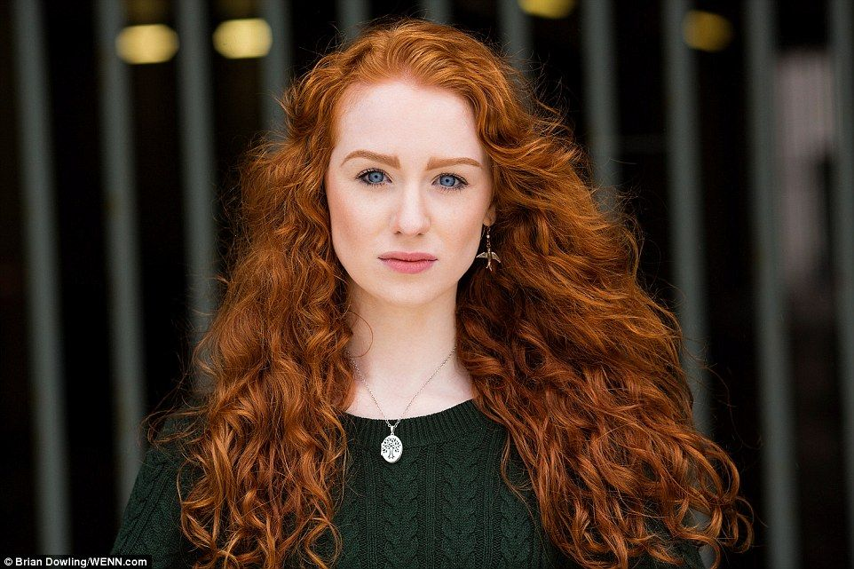 Freaky girl redhead