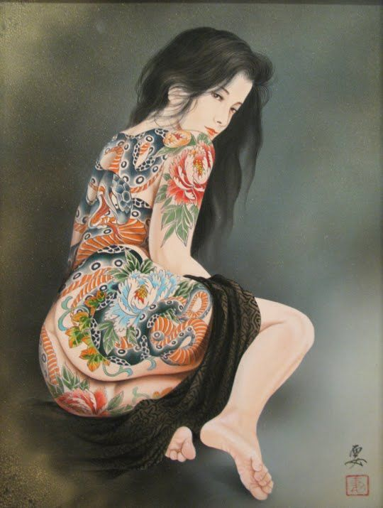 best of Asian erotic Tattoo
