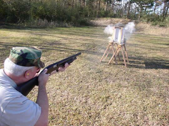 Wild K. reccomend Shot gun wall penetration
