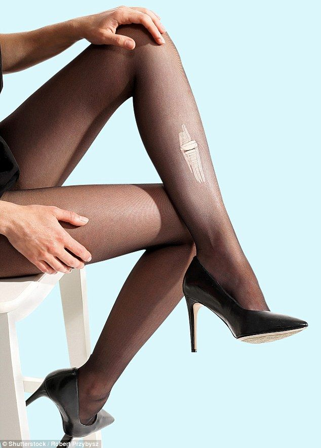 Agree to stop wearing pantyhose