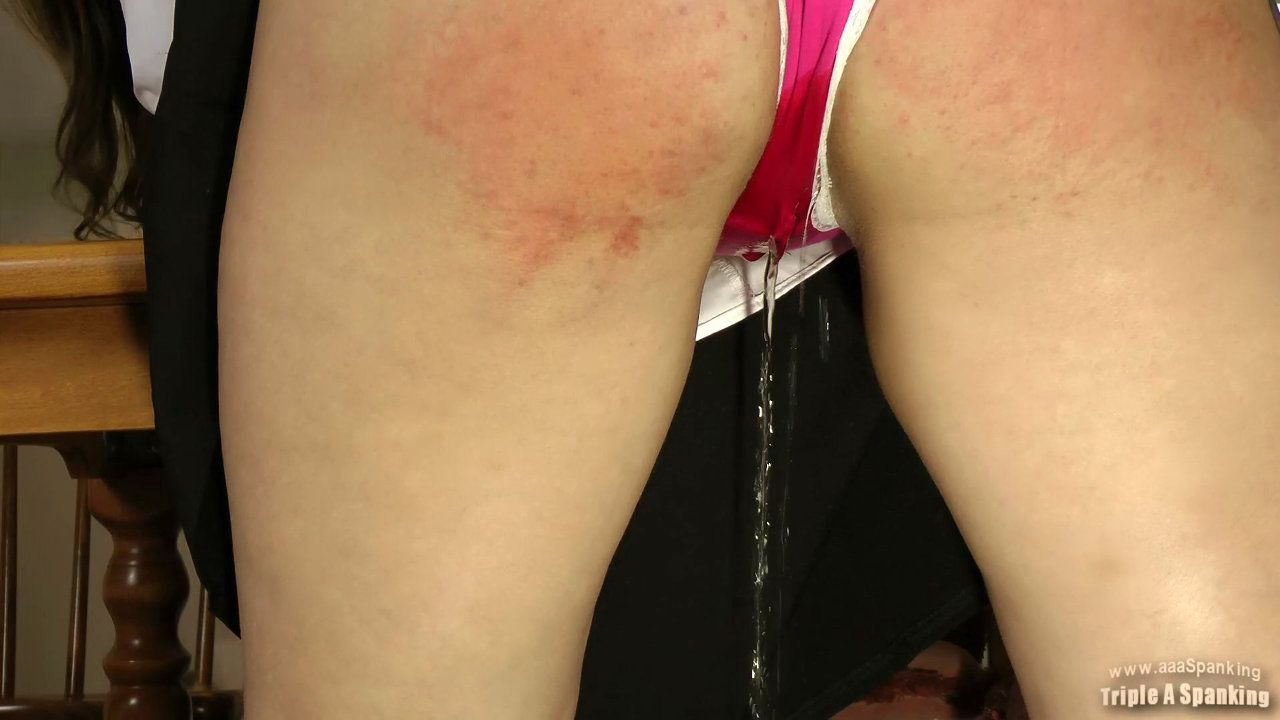 Wet panty spank video clips