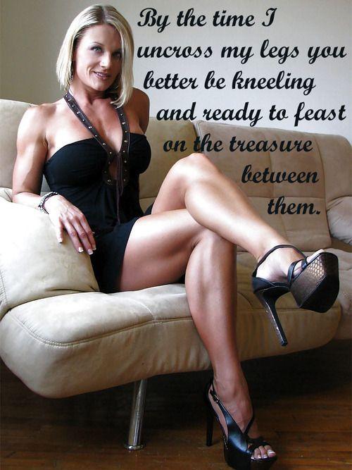Mature female domination