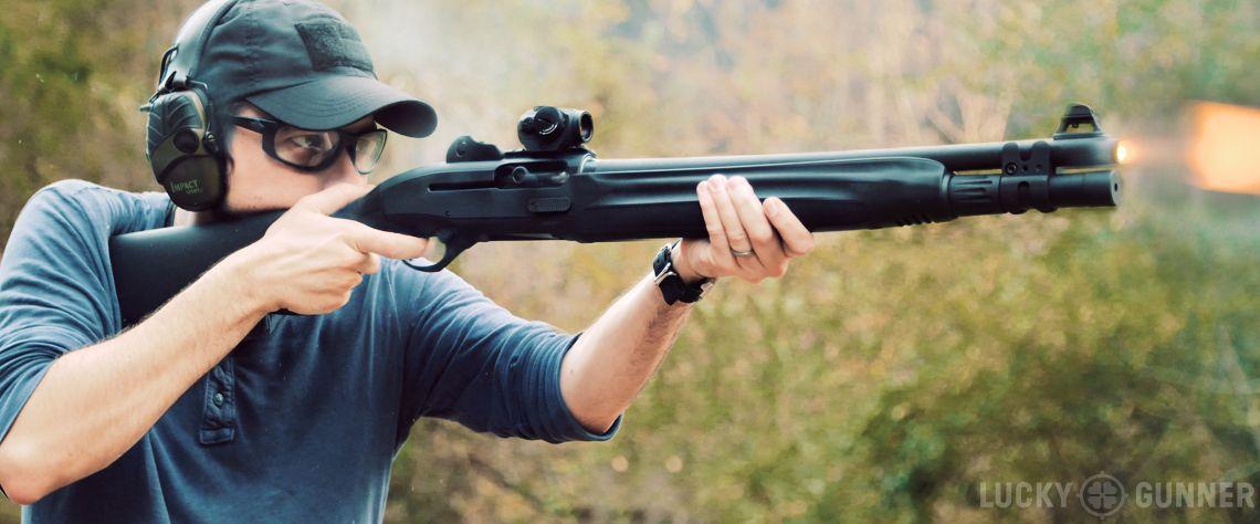 Butch reccomend Shot gun wall penetration