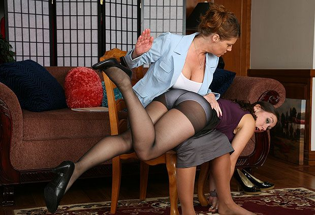 Finch reccomend Erotic spanking over pantyhose