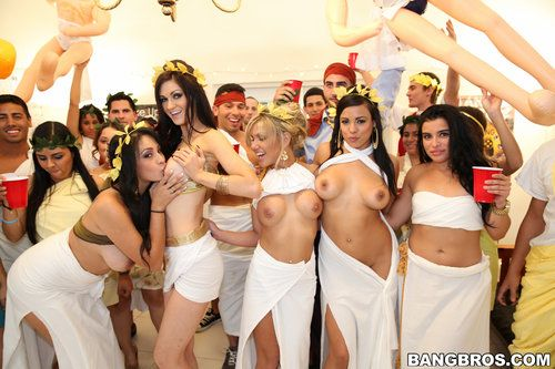 Lights O. reccomend Toga party orgy