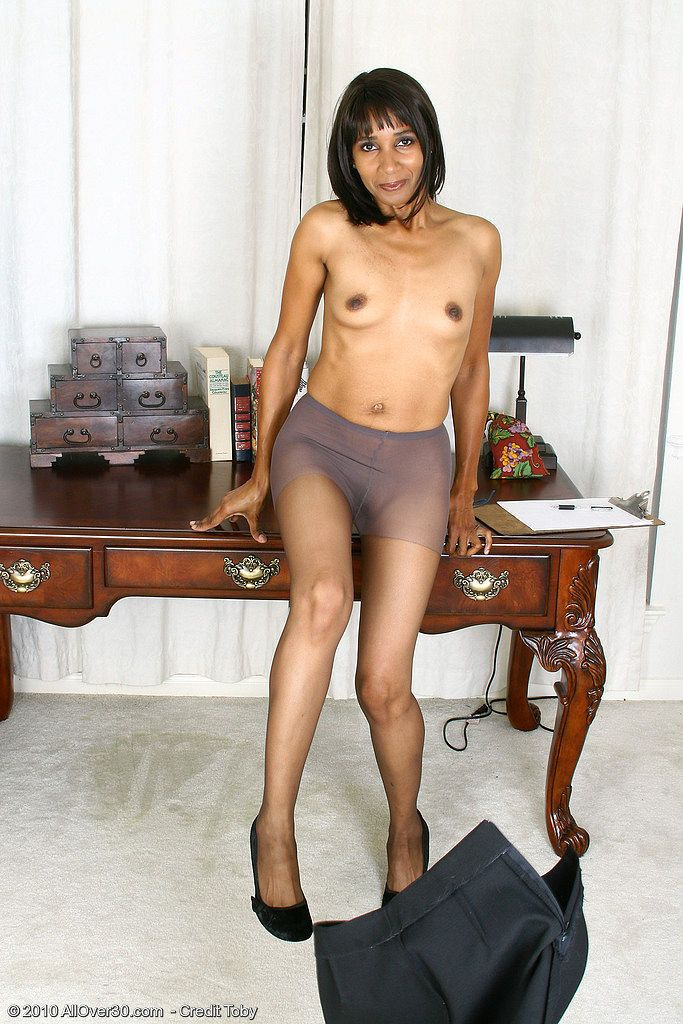 Big busty older black secretary