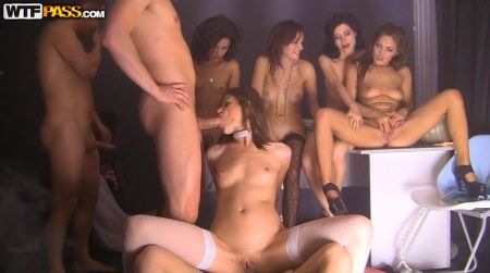 best of Orgy party student Russian