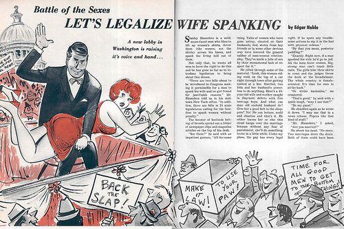Do husband spank wife