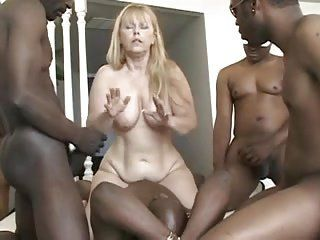 Female bodybuilder gangbang