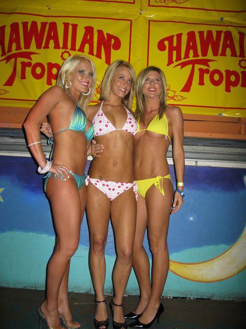 Bikini break contest spring video