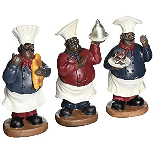 Black chubby figurines