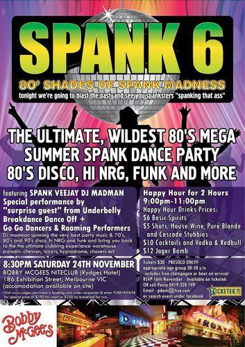 Ladybug reccomend Spank 80 s dance music