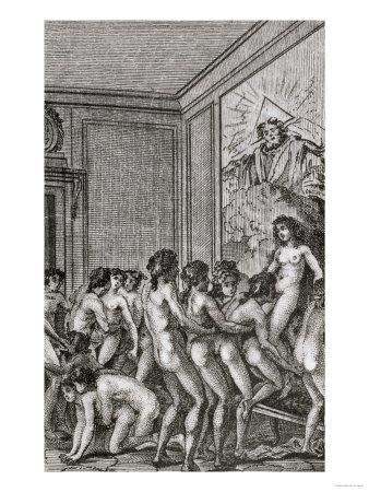 Renaissance art the orgy