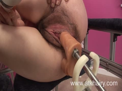 Vibrator orgasm video hairy