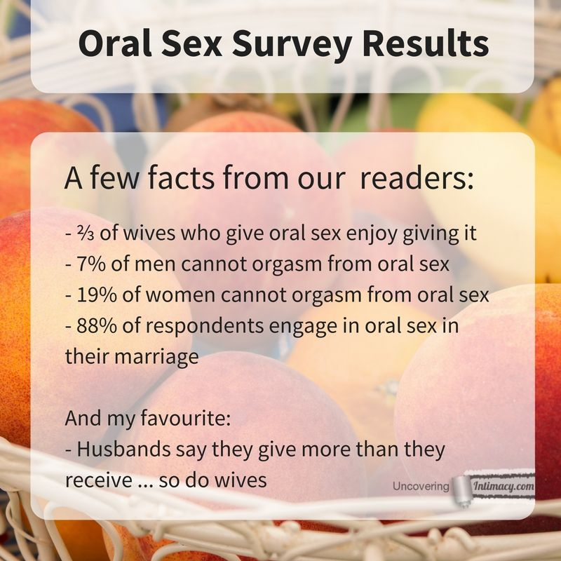 is orgasm during oral sex sin