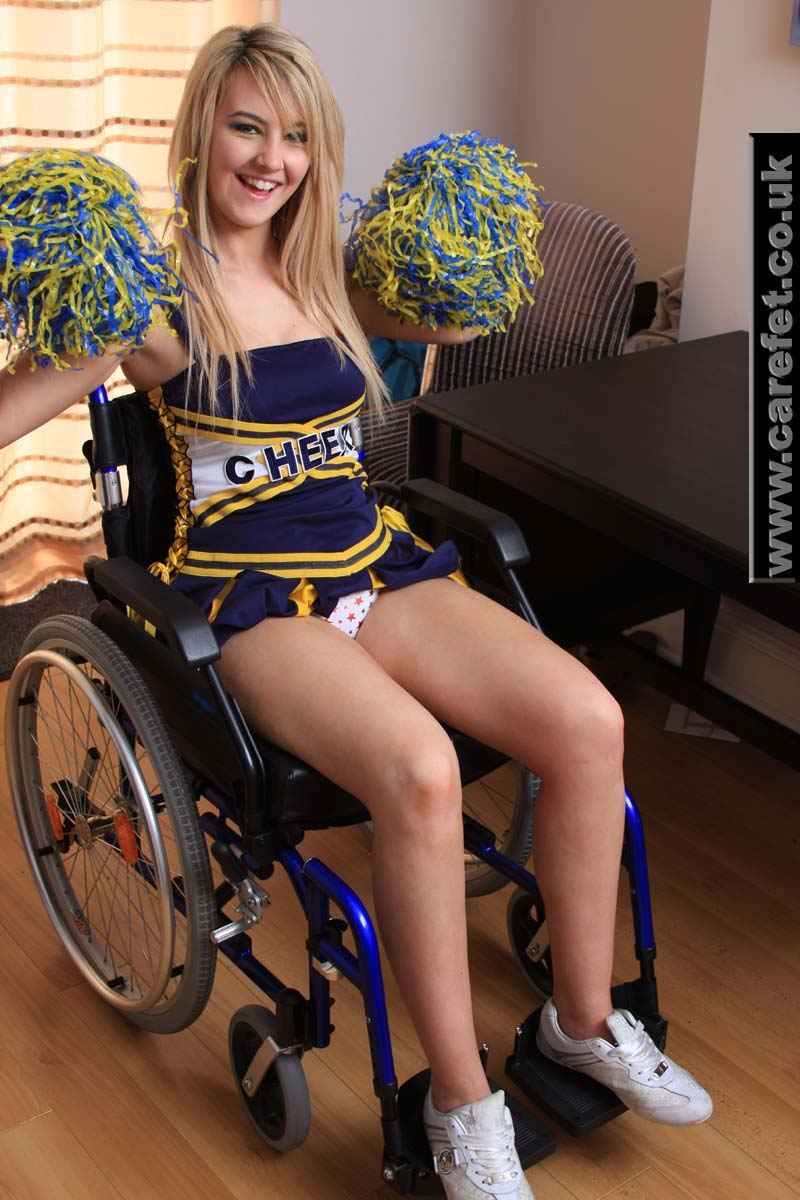 best of Wheelchair pornstar video Female