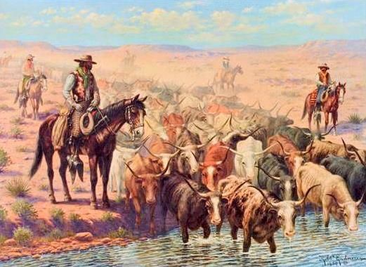 Cowboys fucking on the cattledrive