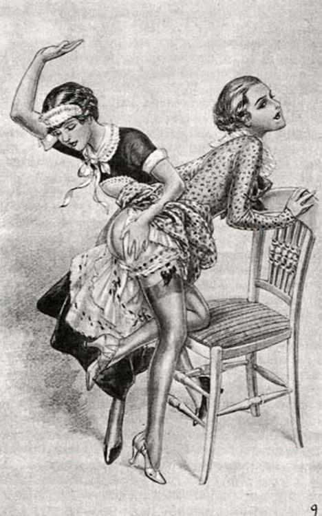 Classic spanking porn