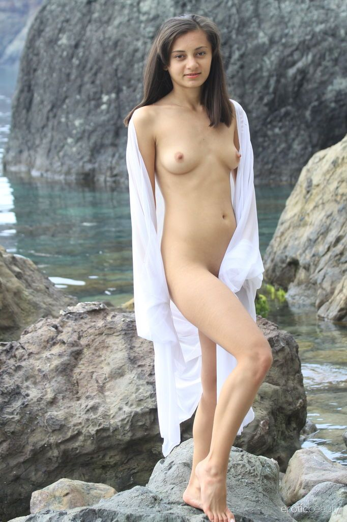 Nonnude little girl naked