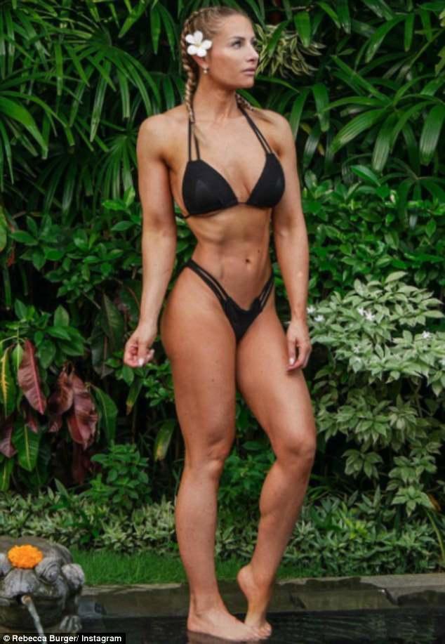 Peep reccomend Rebecca bikini pics vid gallery