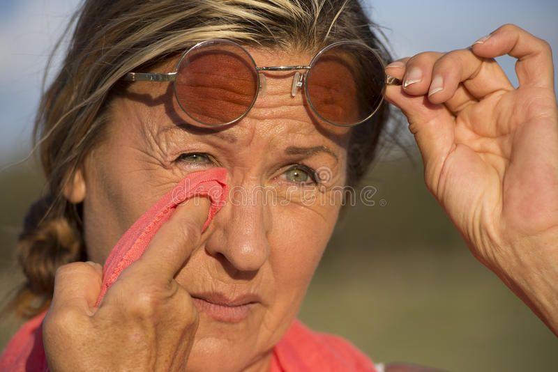 Mature pics sunglasses facial
