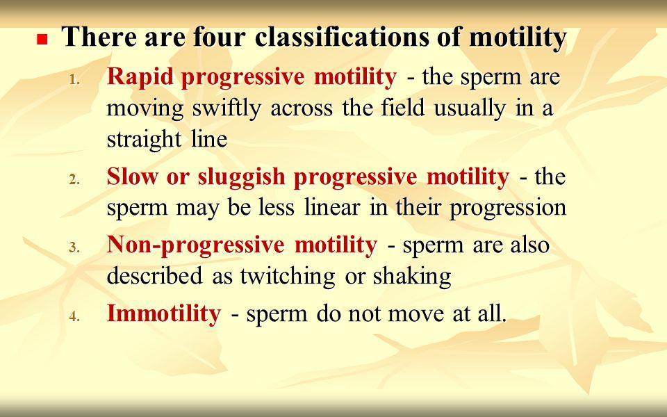 best of Motility Sluggish sperm