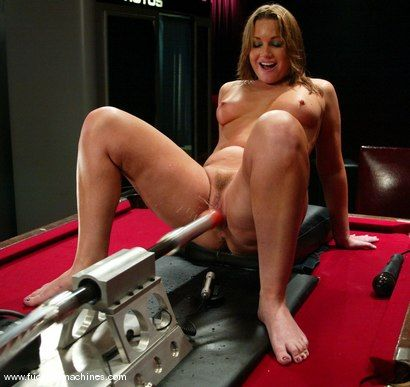 Flower tucci anal machine