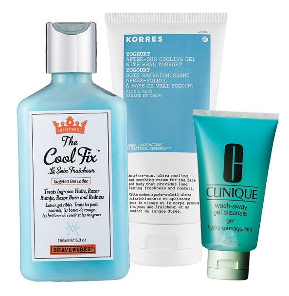 Caesar reccomend Cooling facial lotion