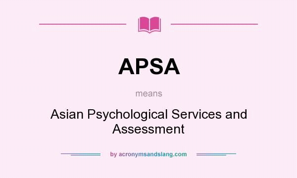 best of And Asian psychological assessment services