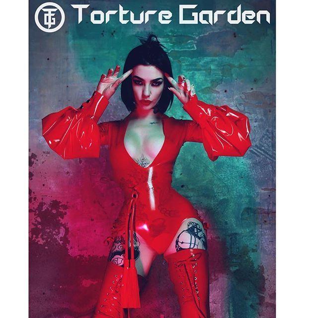 Blond fetish torture