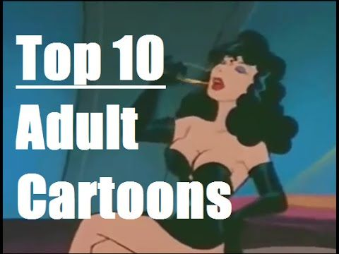 Cartoon oral Adult