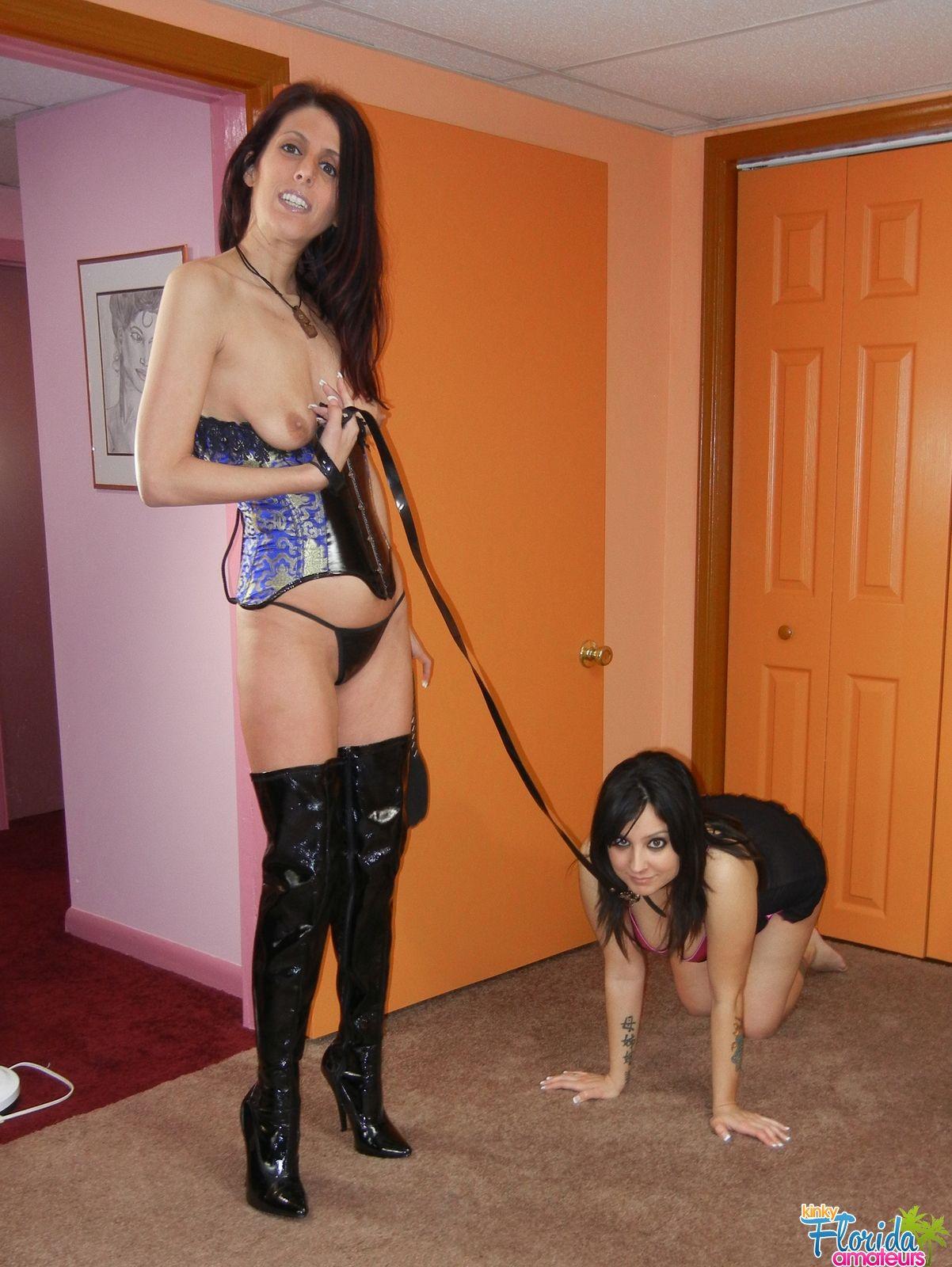 Amateur bondage play