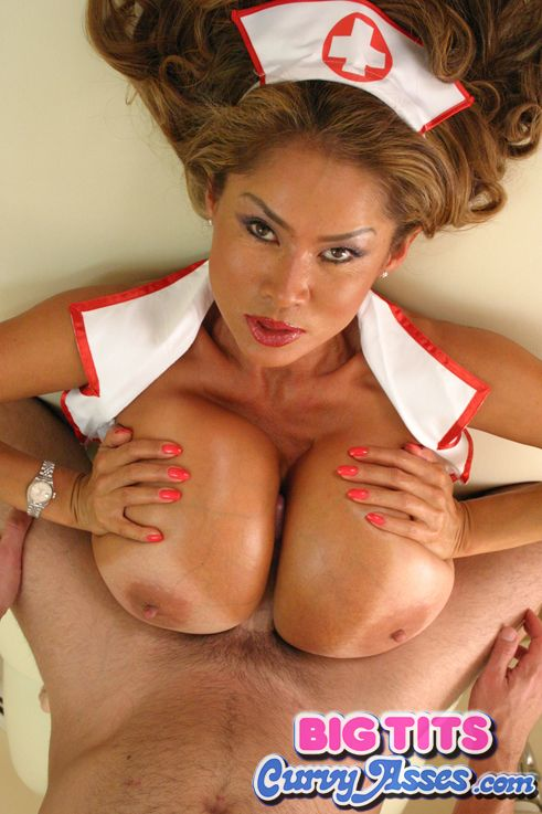 Asian big boob minka