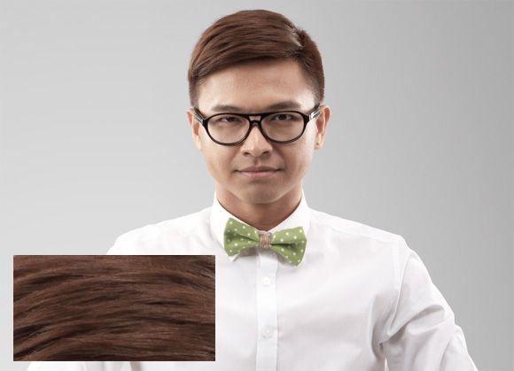 Asian men hair color