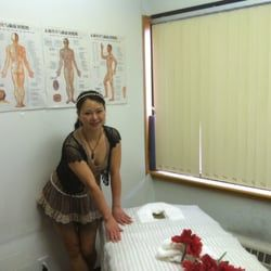 Asian oriental massage