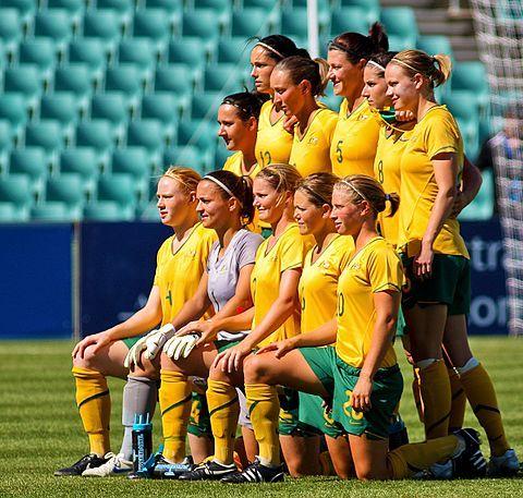 Aussie women soccer 2000 nude
