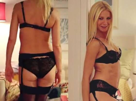 Sexy strip butt