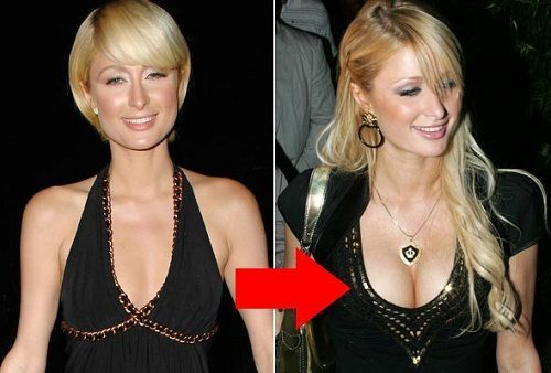 best of New paris hilton Boob