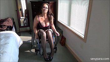 Fiend reccomend Female wheelchair pornstar video