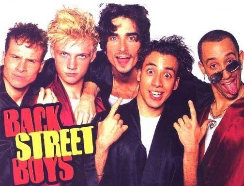 Backstreet boys brunette slut