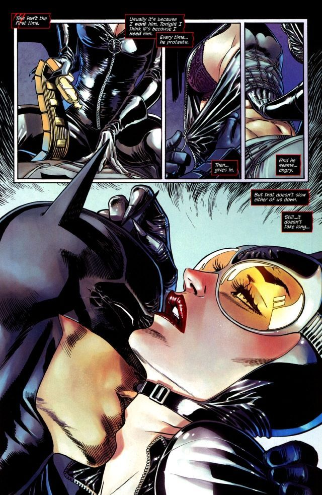 best of Catwoman stories and Batman erotic