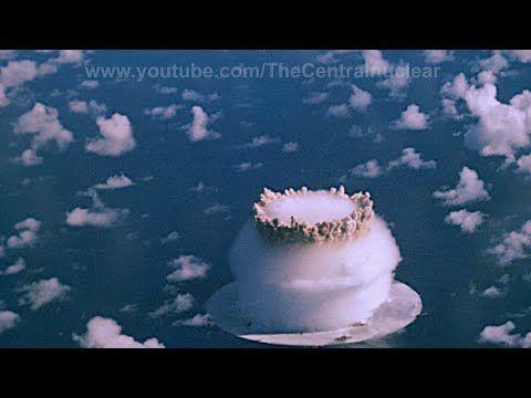 Bikini atoll blast video