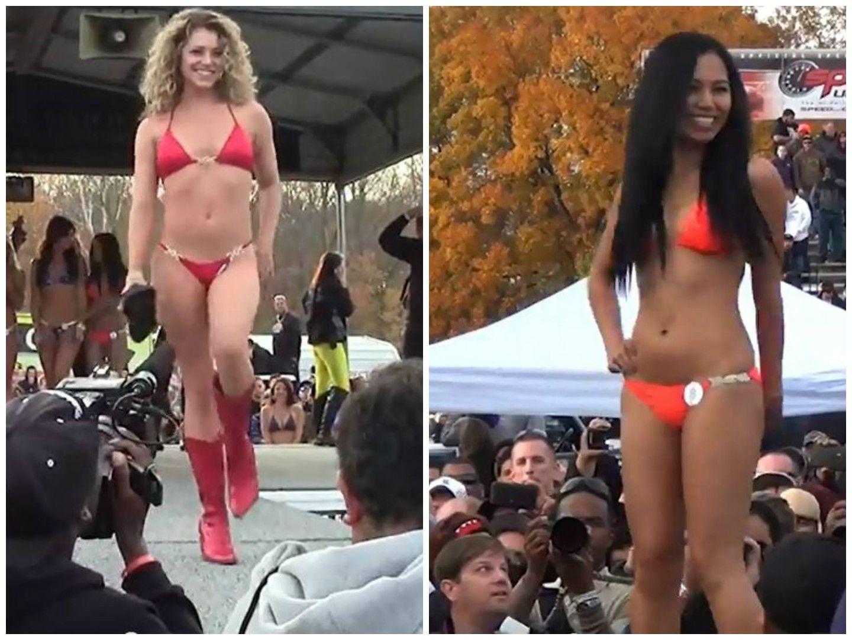 Spike reccomend Bikini contest vodeo