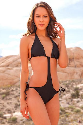 Bikini girls tan lines